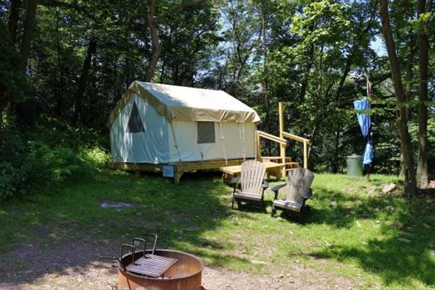Picture of Curvy Campout Glamping Site (Peak Friday-Saturday)