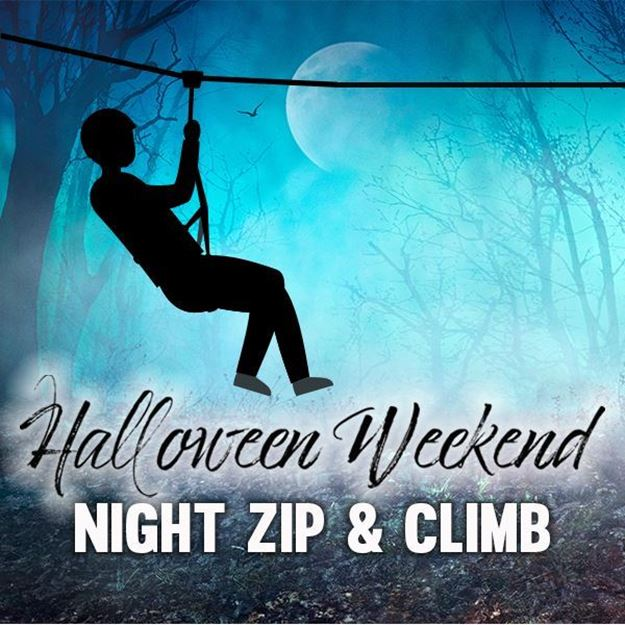 Picture of Halloween Fright Time Zip & Climb