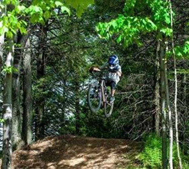 Picture of Skill Improvement Lesson- Downhill Mountain Biking